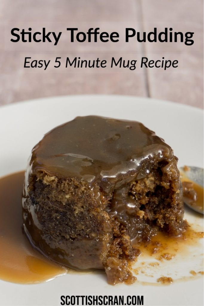 Sticky Toffee Pudding Recipe | Sticky Toffee Pudding in a Mug | Sticky Toffee Mug Cake | Sticky Date Pudding | Sticky Date Pudding Recipe | Sticky Date Pudding in a Mug