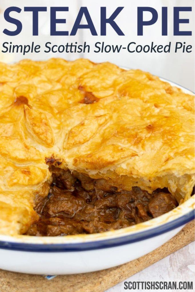 Scottish Steak Pie Recipe - Scottish Scran
