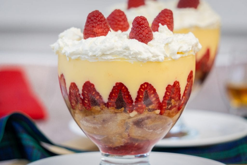 Scottish Trifle - Tipsy Laird Recipe