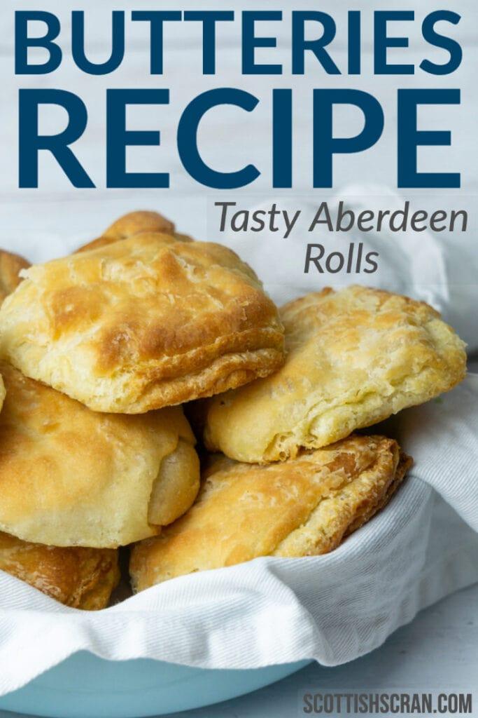 Butteries Recipe