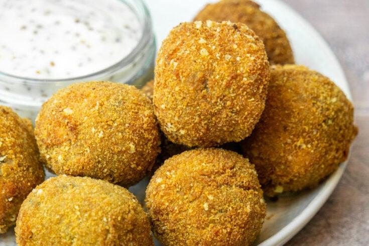 Haggis Bon Bons Recipe - Haggis Balls