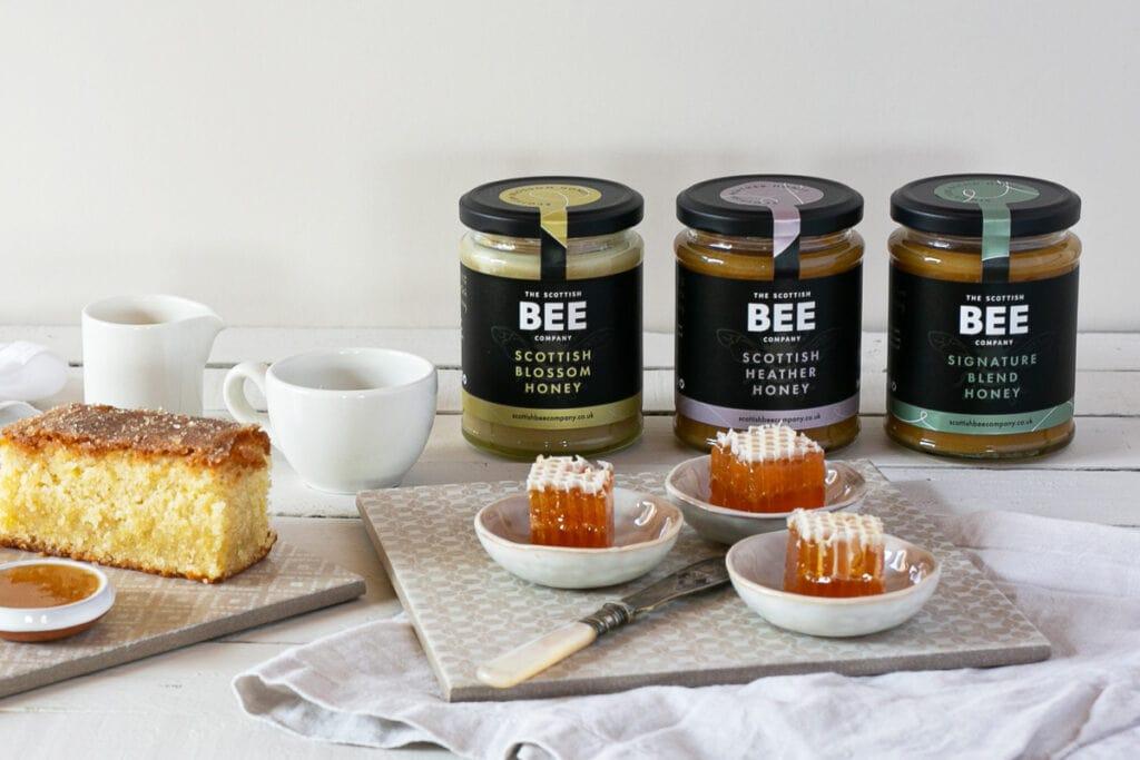 Scottish Bee Company Products - Honey